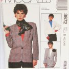 McCall 3872 misses jacket pattern sizes 12 14 16 UNCUT