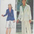 Simplicity 5454 misses jacket skirt pants size 14 pattern