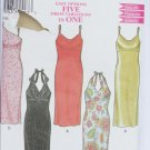 Simplicity 6035 misses summer dress 5 variations sizes 8 10 12 14 16 18