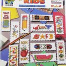 Bookmarks for Kids 12 cross stitch designs color charts