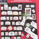 Favorite Sports Cups caps tags towels in cross stitch pattern booklet