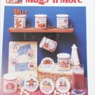 Mugs 'n More Dimensions 14 quick & fun cross stitch designs