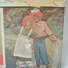 McCall 5254 Raggedy Ann Andy adult costume pattern size M vintage 1976
