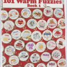 Leisure Arts 2493 with 101 Warm Fuzzies book I cross stitch pattern booklet