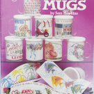 American School of Needlework 3573 Mugs by Sam Hawkins cross stitch book marks