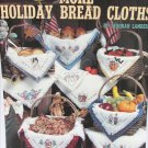 Leisure Arts 2318 More Holiday Bread Cloths Halloween Thanksgiving Easter more cross stitch leaflet