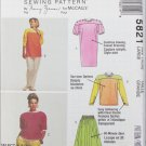 McCall 5821 misses dress top skirt pants sizes 18 20 UNCUT pattern Knits only