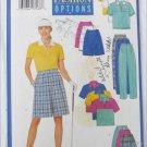 Butterick 5550 misses sports top skort & pants sizes 20 22 24 UNCUT pattern