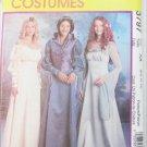 McCall 3797 Renaissance costume misses weskit cut to 6 others UNCUT 6 8 10 12 Pattern
