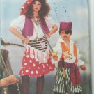 Butterick 6730 costume pattern girl boy pirate UNCUT sizes S M L XL