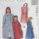 McCall 7258 girls dress & petticoat sizes 10 12 14 UNCUT pattern