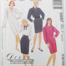 McCall 5667 misses 1 or 2 piece dress sizes 16 18 20 UNCUT pattern