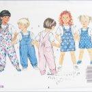 Butterick 5396 toddler jumper jumpsuit and top sizes 4 5 6 UNCUT pattern