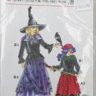 Witch costume pattern Germany Neue mode girls size 6 to 14 women sizes 12 to 22 UNCUT pattern