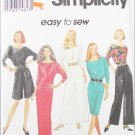 Simplicity 8737 misses long short skirt top pants sizes L XL UNCUT pattern