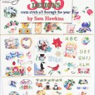 American School Needlework 365 designs Cross stitch through year book