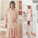 McCall 3520 Misses jacket & skirt sizes 16 18 20 UNCUT pattern