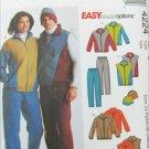 McCall 4224 Misses Men Boys jacket vest pants sizes XLG XXL UNCUT pattern