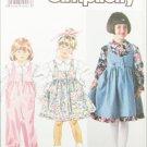 Simplicity 9792 child jumper jumpsuit blouse sizes 2 4 6 6X UNCUT pattern
