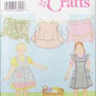 Simplicity 8916 child bib & waist apron sizes 3 4 5 6 7 8 UNCUT pattern