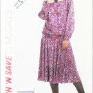McCall 4578 Misses blouse skirt sizes 18 20 22 UNCUT pattern