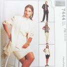 McCall 7444 misses jacket top pants & skirt sizes 18 20 22 UNCUT pattern