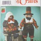 Simplicity 7350 Thanksgiving pilgrim dolls pumpkin UNCUT pattern