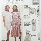 McCall 6398 misses dress & jacket sizes 14 16 18 UNCUT pattern
