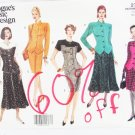 Vogue 2750 misses top & tapered skirt sizes 18 20 22 UNCUT pattern