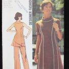 Simplicity 5447 misses Princess lines dress tunic pants size 12MP