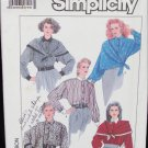 Simplicity 8806 misses blouse scarf sizes 16 18 20 22 pattern