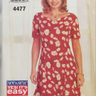 Butterick 4477 misses dress sizes 18 20 22 pattern