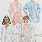 Butterick 3324 misses blouse & vest sizes 20 22 pattern