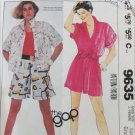 McCall 9635 misses shirt and shorts size L 18-20 pattern