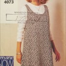 Butterick 4073 misses jumper & top sizes 18 20 22 pattern See & Sew
