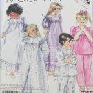 McCall 3392 girls nightgown robe pajamas sizes 4 5 6 pattern