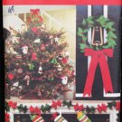 Butterick 5093 Christmas ornaments stockings pattern