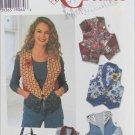 Simplicity 7151 misses vest & bag sizes 18 20 22 pattern
