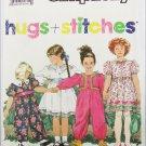 Simplicity 7038 toddler dress & jumpsuit sizes 1 2 3 4