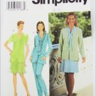 Simplicity 7968 misses jacket size 18 skirt pants sizes 18 20 22