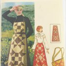 Butterick 4434 misses long skirt jumper bag vintage size 16 B 38