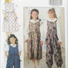 Butterick 5818 girls jumper jumpsuit blouse sizes 12 14