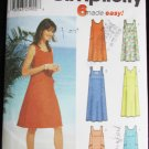 Simplicity 5954 misses pullover dress or jumper sizes L XL