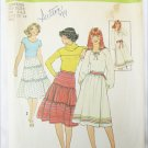 Simplicity 8076 misses tiered or full wrapped skirts sizes 6 8