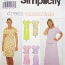 Simplicity 8086 misses dress top and skirt sizes 20 22