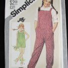 Simplicity 5688 girls jumpsuit size 12 breast 30