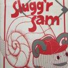 San Francisco Slugg'r Sam snail animal pattern vintage unused 1980