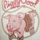 San Francisco Piggy Soo animal pattern vintage 1980