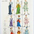 Butterick 3273 misses costume size 14 Bo Peep early 19th century others
