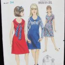 Butterick 3695 vintage dress size 14T B 34